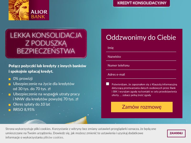 Alior Bank - Kredyt konsolidacyjny (PL), [CPS]