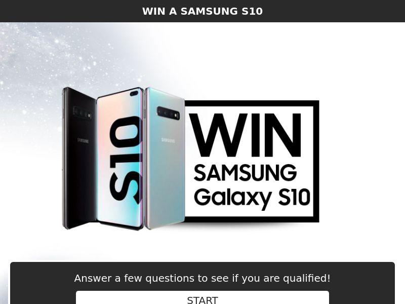 Sweepstake win Samsung Galaxy S10 - SOI CPL - [NZ]