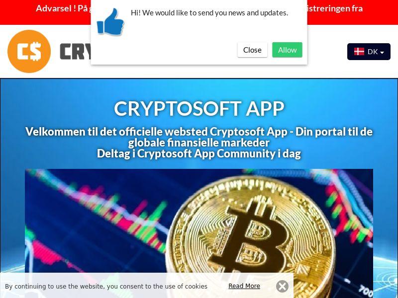 Cryptosoft App Danish 2974