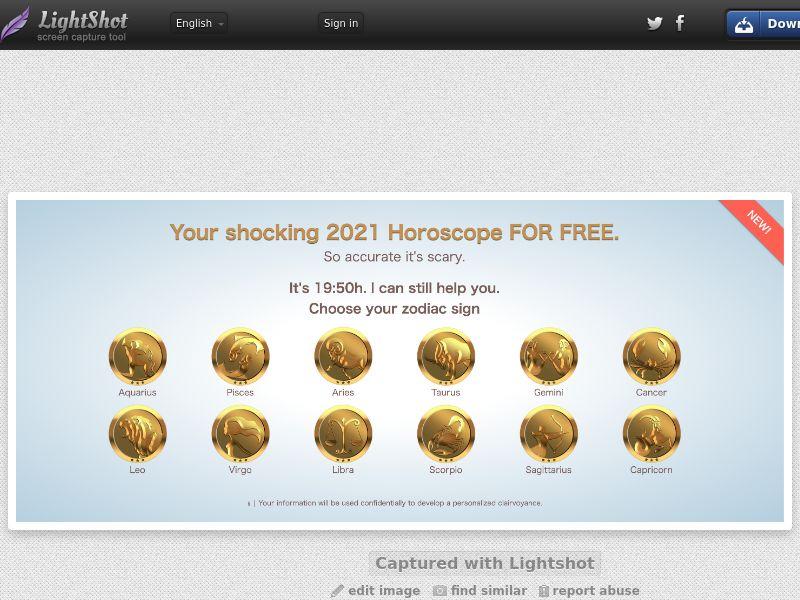 Chris Horoscope UK Push traffic 0,8$
