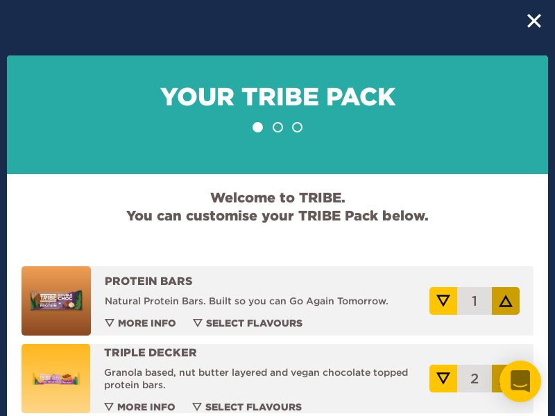 TRIBE - £3 First Pack Trial - CPA [UK]