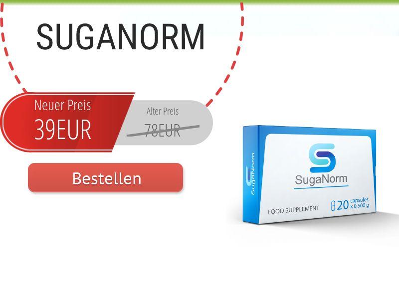 SugaNorm DE - sugar control supplement