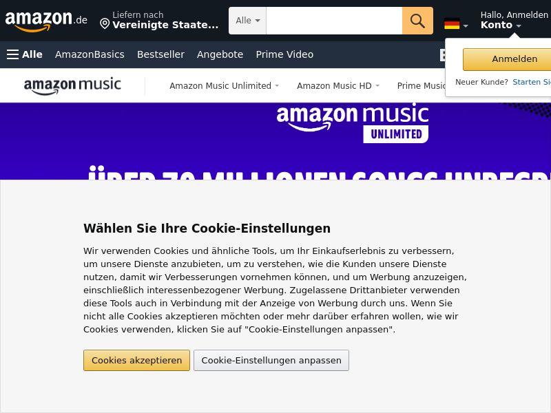 Amazon Music Unlimited - UK
