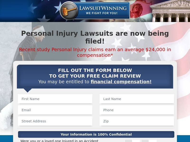 Lawsuit Winning - Personal Injury - Email