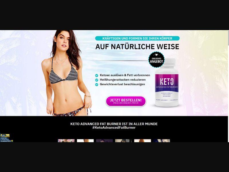 Keto Beach Advanced Fat Burner - Diet & Weight Loss - SS - [DE]