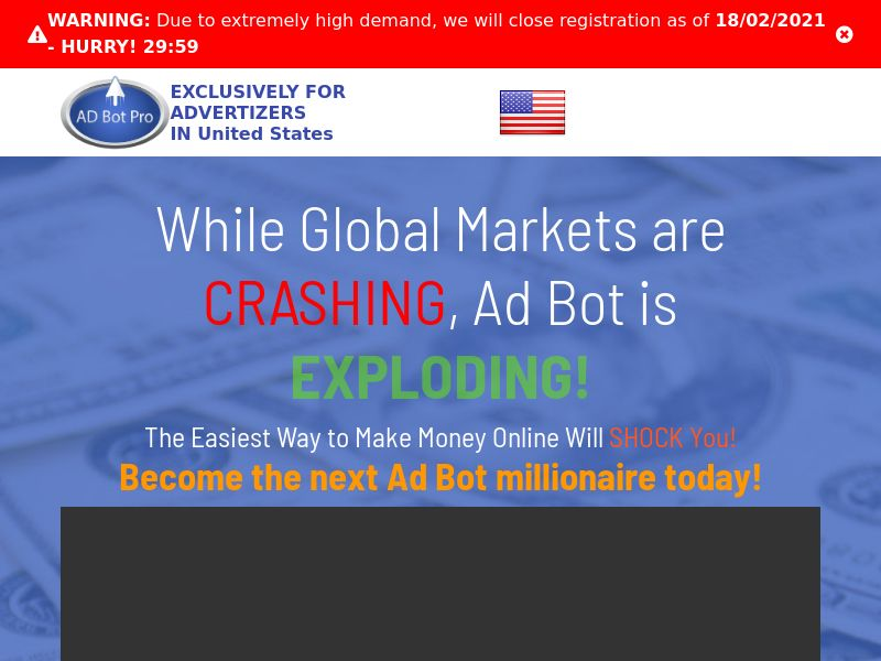 AdBotPro: The Easiest Way to Make Money Online - CPA - Desktop & Mobile [EN]