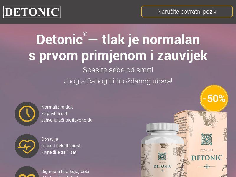 Detonic HR (hypertension)
