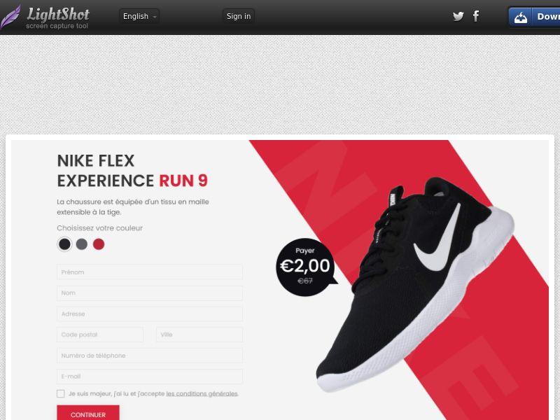 MyHappyMillion - Nike Flex Experience Run 9 (FR) (Trial) (Personal Approval)