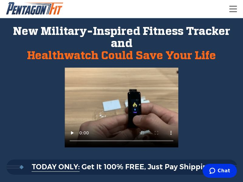 PentagonFit Tracker Watch F+S (non-recurring) - Trial