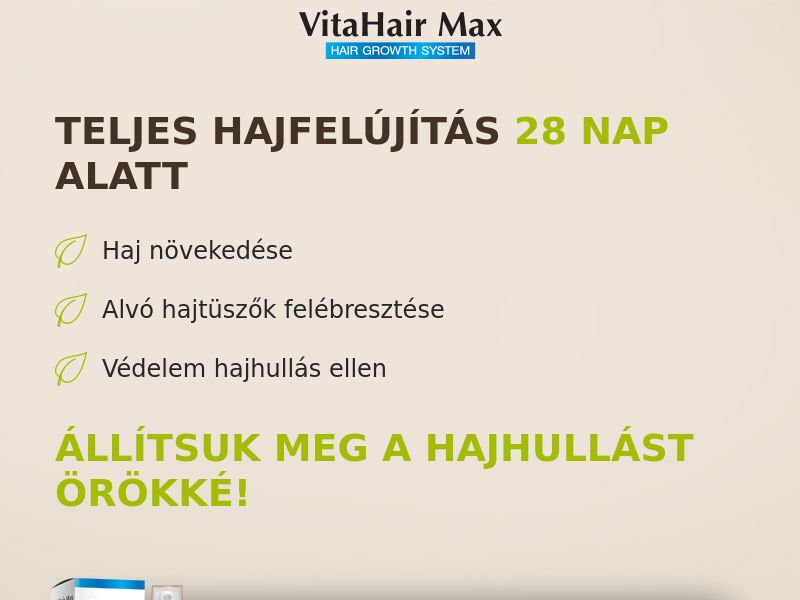 VitaHairMax - COD - [HU]