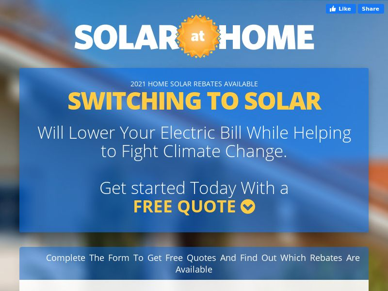 Solar At Home (CPL) - US