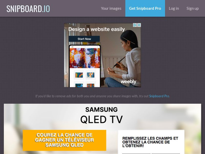 BigEntry - Samsung QLED TV v1 FR - CC Submit