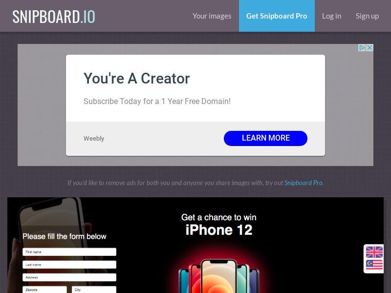 BigEntry - iPhone 12 v1 MY - CC Submit