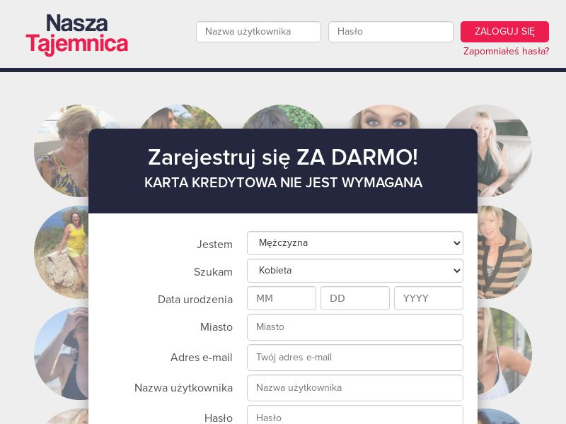 Nasza Tajemnica - PL (PL), [CPL], For Adult, Dating, Content +18, Double Opt-In, Email Submit, women, date, sex, sexy, tinder, flirt