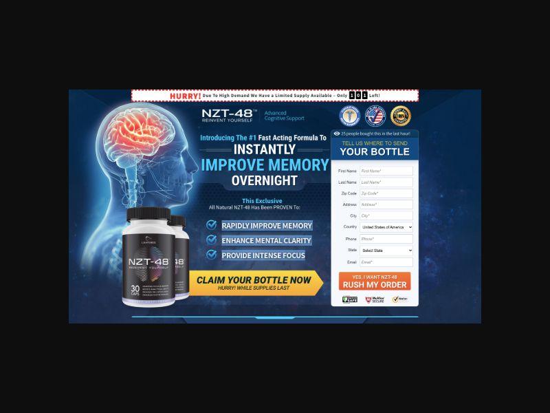 Brain NZT-48 (US) CPS