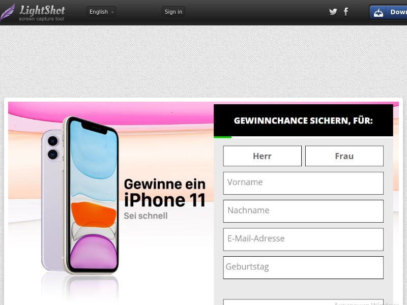 DE | SOI | iPhone 11 (Without Prelander) - CPL