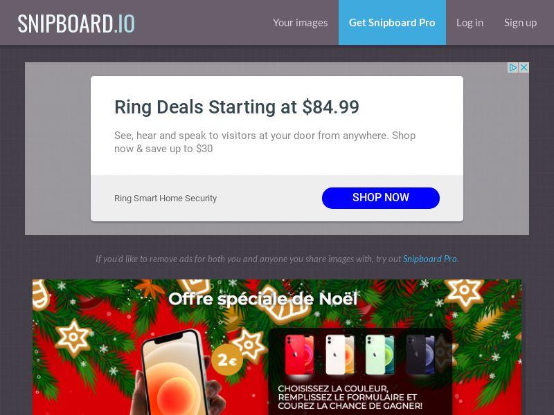 BigEntry - Christmas iPhone 12 v1 FR - CC Submit