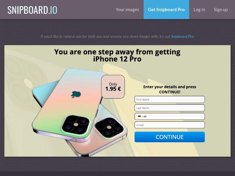 38162 - DE - G33K Premium - iPhone 12 - CC submit