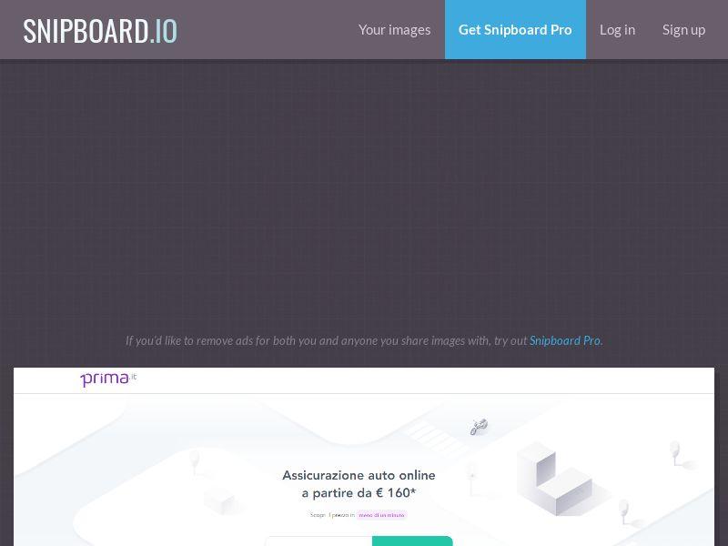 42049 - IT - Prima Assicurazioni - IT - CPL - [creatives approval before launching]