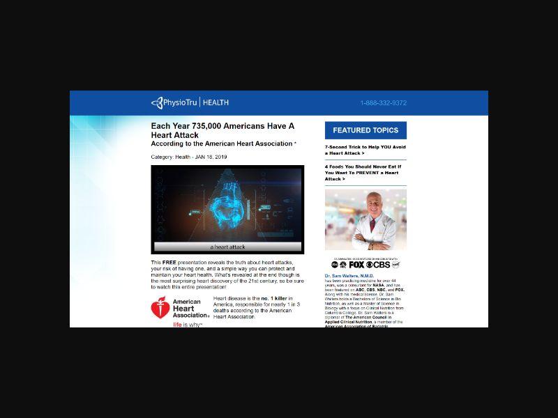 Heart Attack Defense - Supplement (US,CA,AU,NZ,UK)