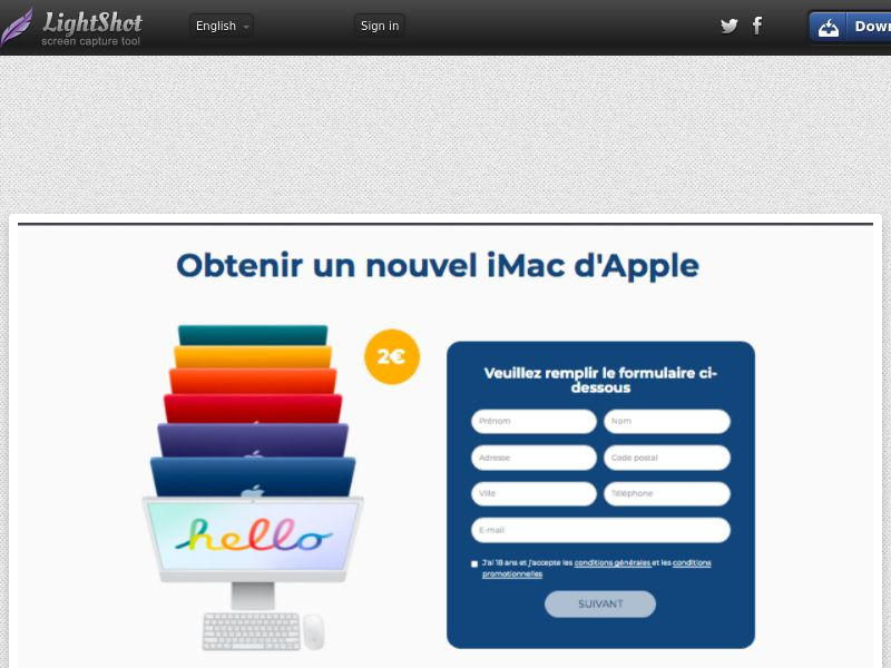BigEntry - iMac Colors (FR) (Trial) (Personal Approval)