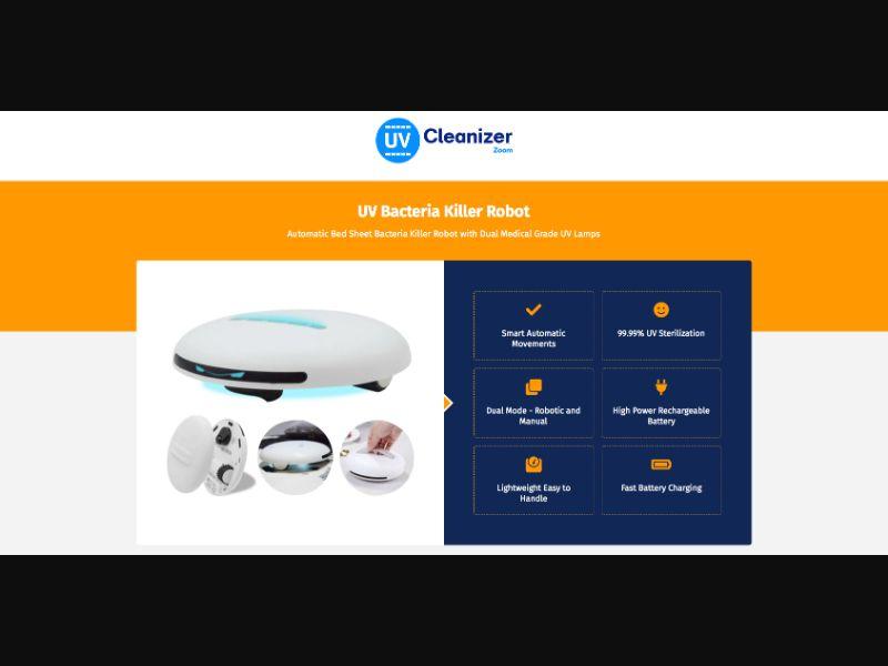 UV Cleanizer - CC Submit - US-IT-AU-KR - E-commerce - Responsive