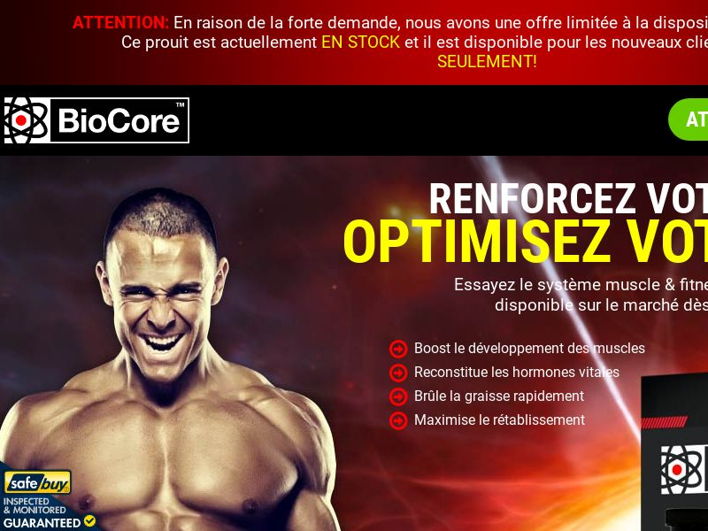 BioCore - FRENCH - (Muscle)