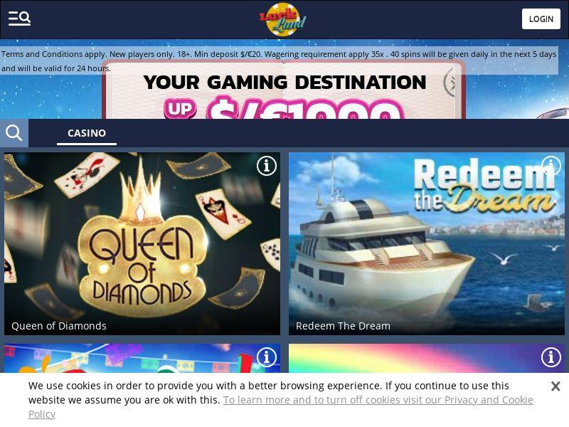 Luckland - Casino - NL, NO, CA, DE - (CPA)