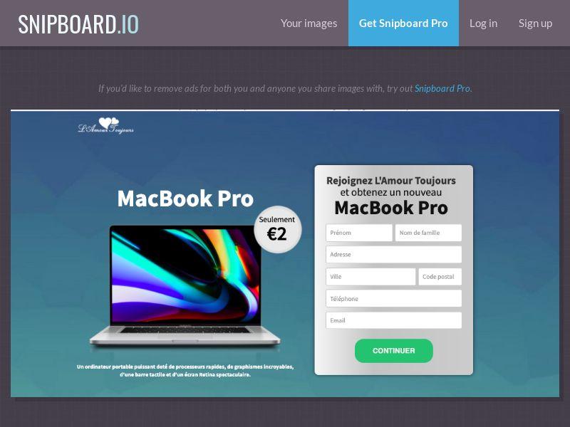36579 - FR - LAT - MacBook Pro - CC submit