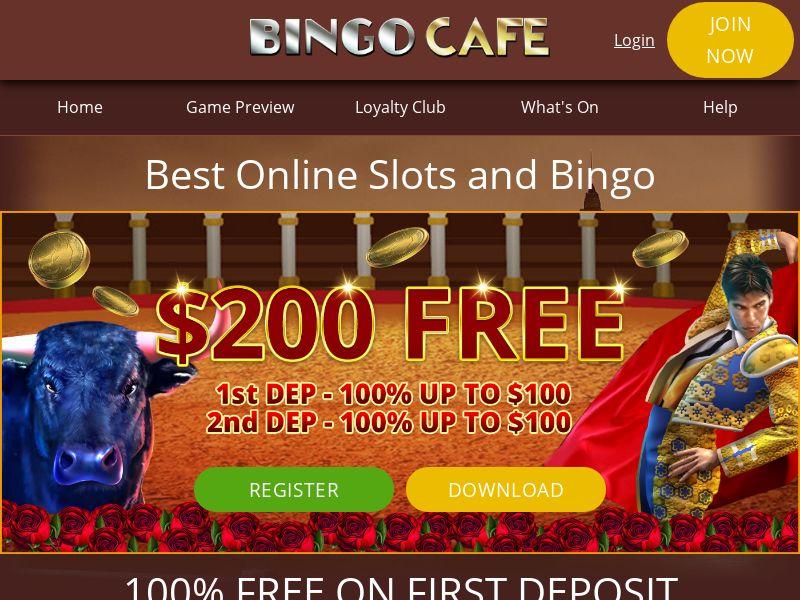 Bingo Cafe - NO (NO), [CPA], Gambling, Casino, Deposit Payment, million, lotto