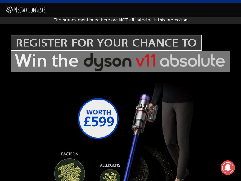 NectarContests - Dyson CPL [UK]