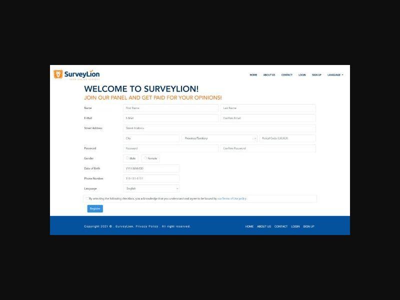 SurveyLion - CA