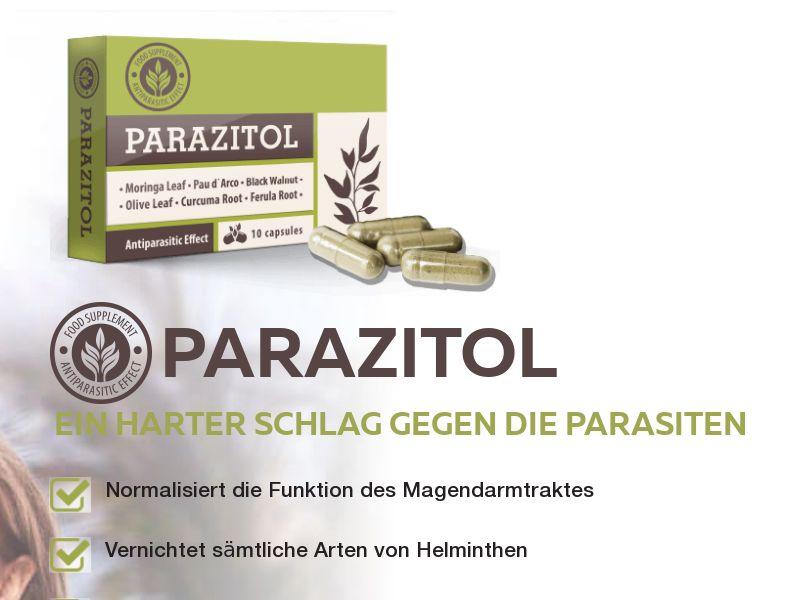 Parazitol DE - anti-parasite product