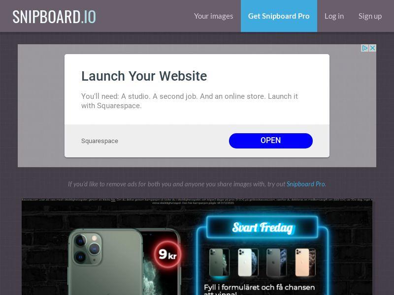 BigEntry - Black Friday iPhone 11 Pro v1 SE - CC Submit