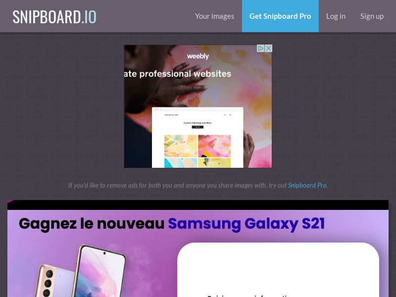 ConsumersConnect - Win the new Samsung Galaxy S21 FR - SOI