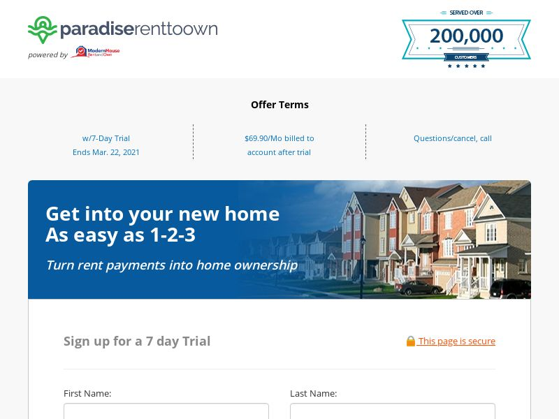 Paradise Rent to Own Properties (CC Submit) - Real Estate - US