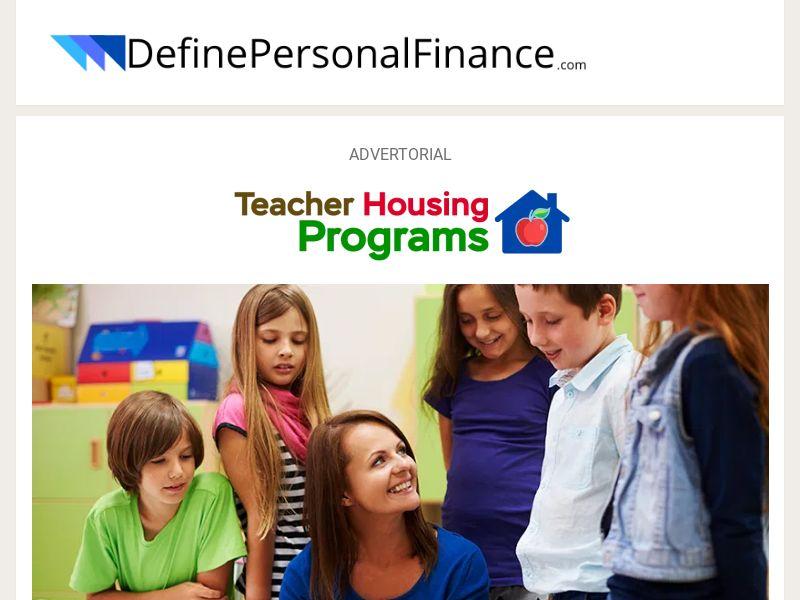 DefinePersonalFinance - Teacher Housing Programs - CPL - US