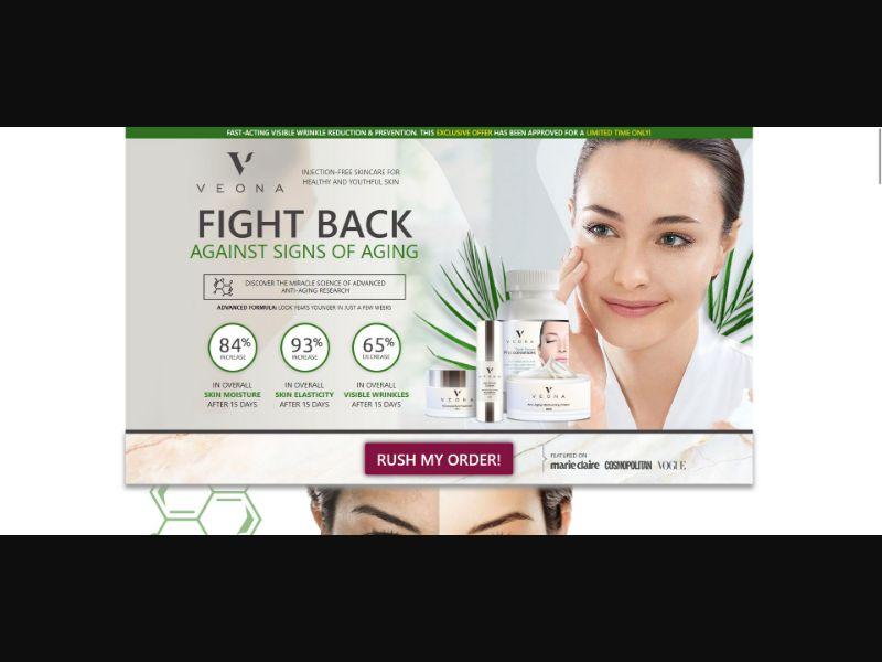 Veona Beauty - Skin Care - SS - [18 GEOs]