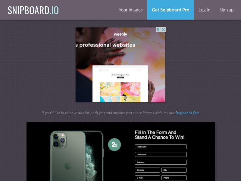 BigEntry - iPhone 11 Pro v4 (Static LP) UK - CC Submit