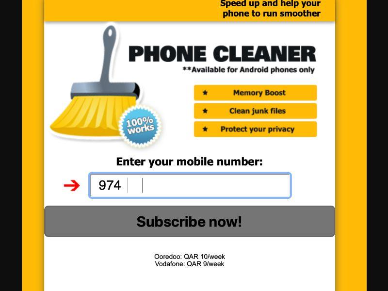 3672 | QA | Pin submit | Vodafone | Mainstream | Download