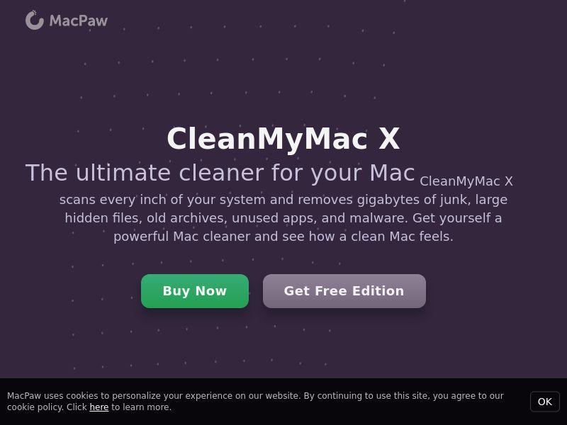 (14707) [WEB+WAP] CleanMyMac - Mac Software - WW - CPL