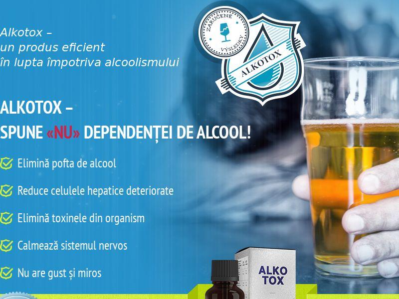ALKOTOX RO - alcoholism treatment product