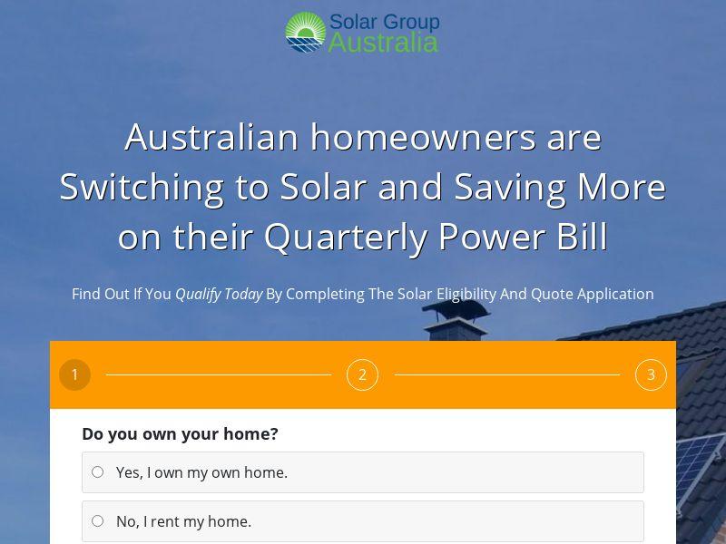 AU - Solar Group Australia [State Targeted]