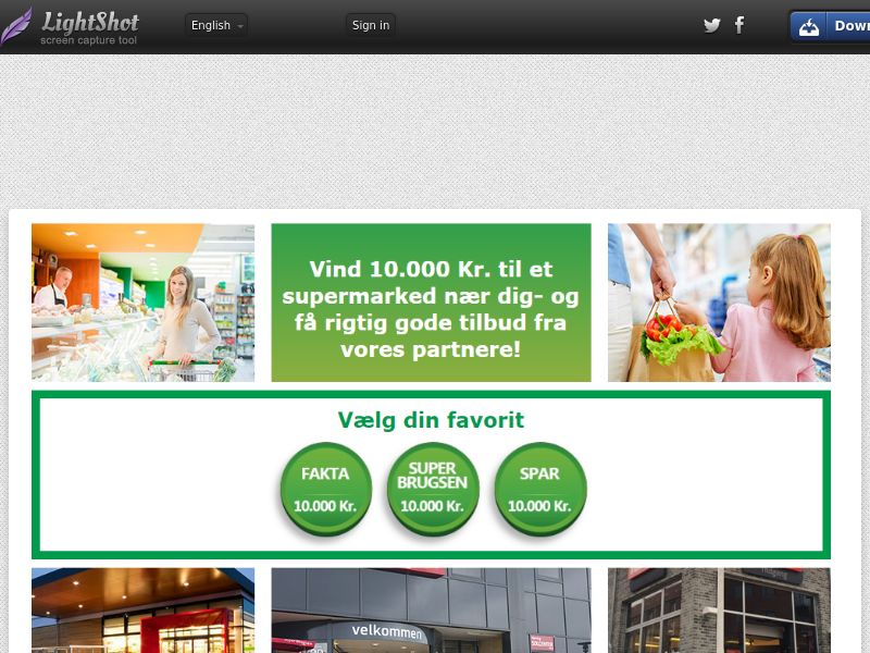 Supermarket Voucher v2 (Sweepstake) (SOI) - Denmark