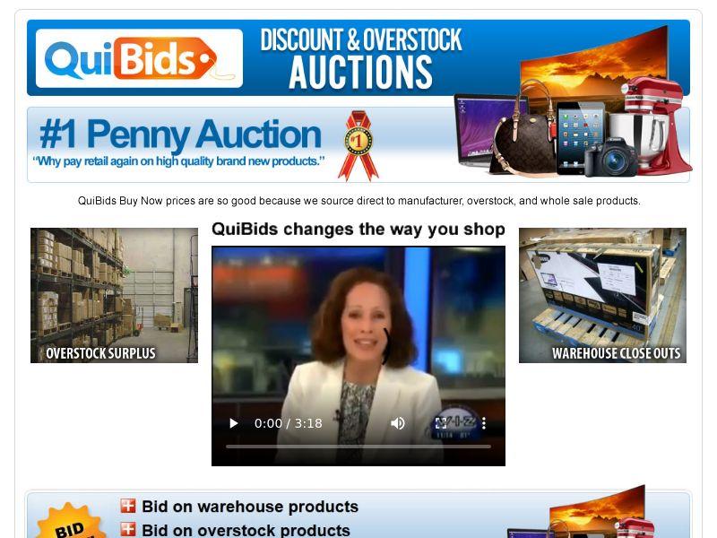 Auction - Quibids - Penny Auction (US)
