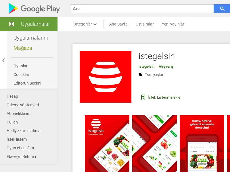 Istegelsin TR CPI Android (non-incent) *KPI (city target)