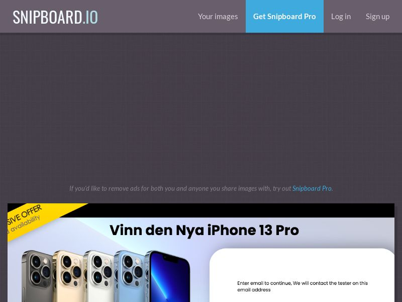 ConsumersConnect - Win the new iPhone 13 Pro SE - SOI