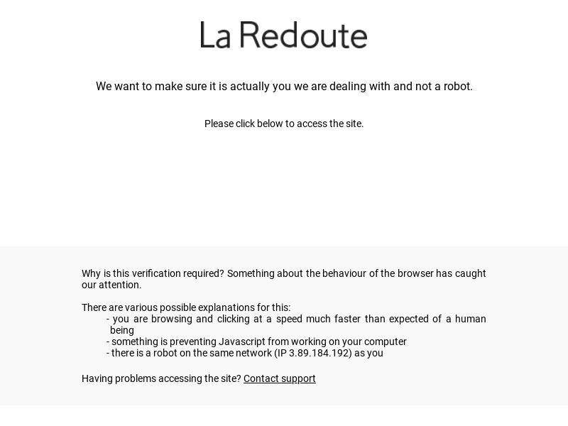 La Redoute- online French fashion boutique