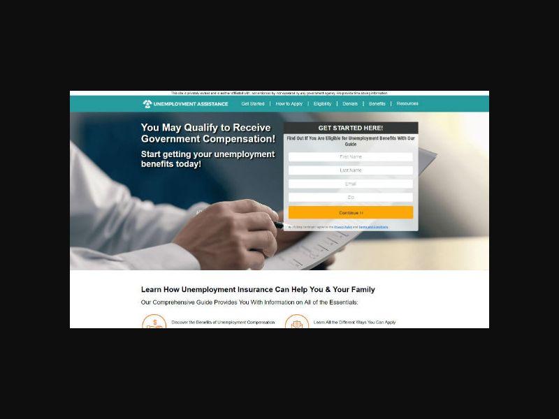 Unemployment Assistance - SOI (US)