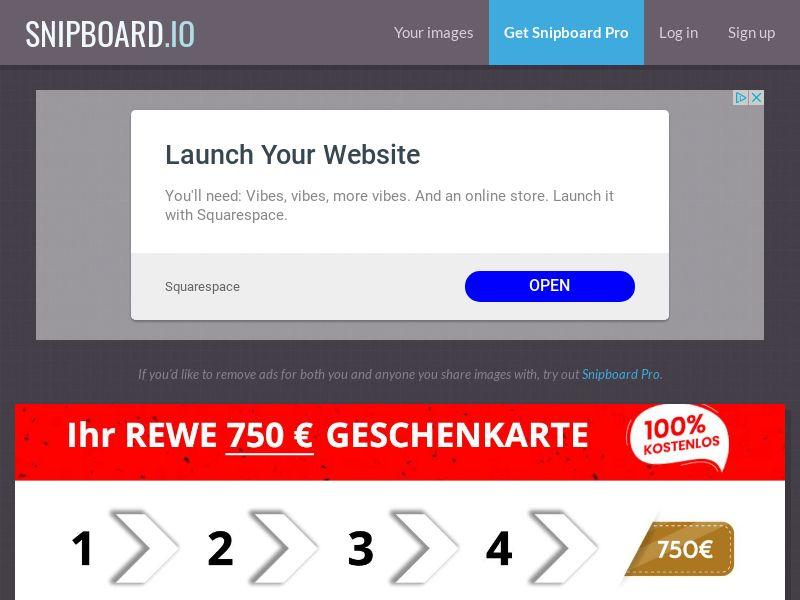 SteadyBusiness - REWE Supermarket Giftcard LP53 DE - CC Submit